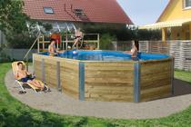 WEKA | Zwembad 594 Gr.2 | 376x850 cm | Voordeelset