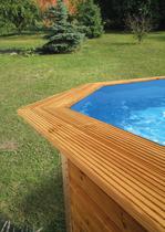 WEKA | Toprail tbv zwembad 593
