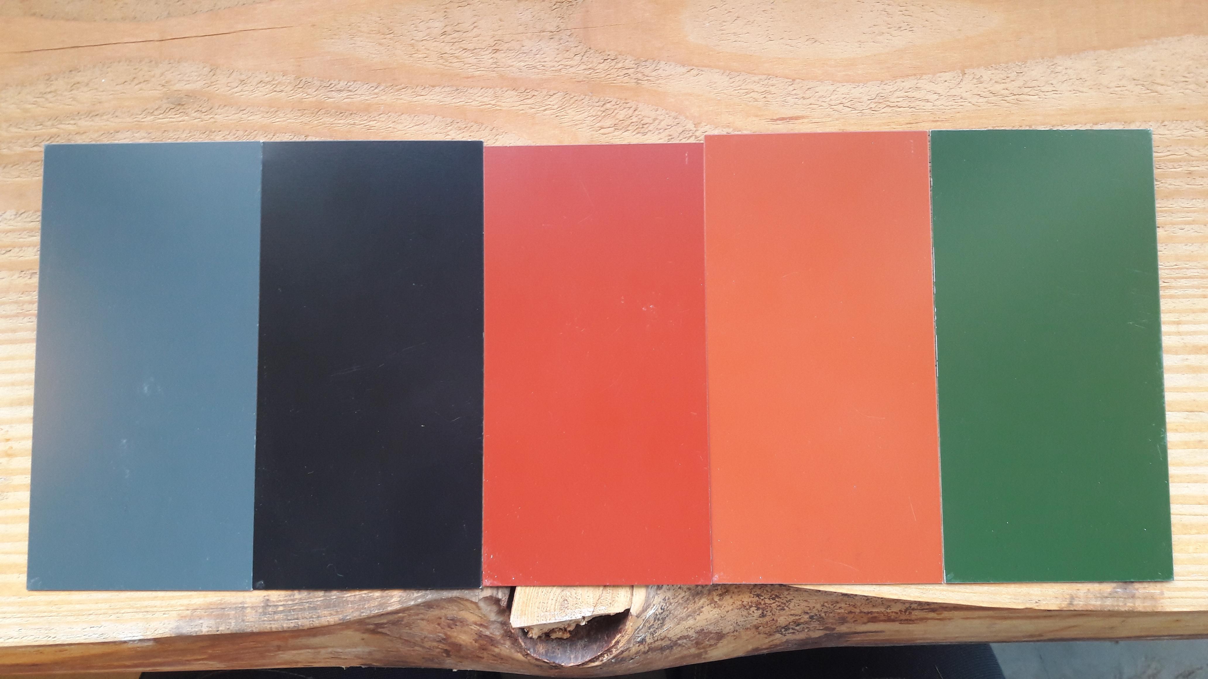 Finish Profiles | Dakpanplaat Kingstile | Rood | 4075 mm