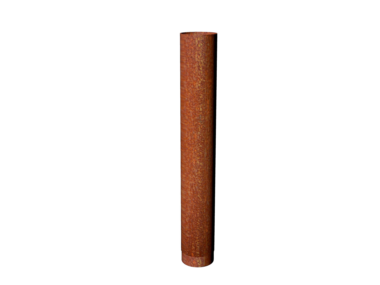 Adezz I Rookkanaal 204 x 1000 mm | Corten