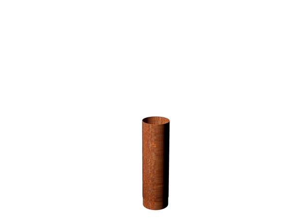 Adezz I Rookkanaal 154 x 500 mm Corten