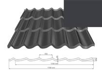 ArchelorMittal | Dakpanplaat Kingstile | Antraciet | 500
