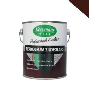Koopmans | Perkoleum Zijdeglans 210 Donkerbruin | 2,5 L