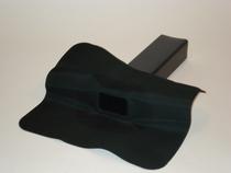 Tytane | EPDM Hemelwaterafvoer 60 x 100 mm | 90 Graden