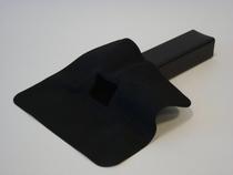Tytane | EPDM Hemelwaterafvoer 60 x 100 mm | 45 Graden