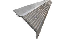 EPDM knelprofiel - muurprofiel 60mm lengte 1650 mm - Muuraansluitprofiel