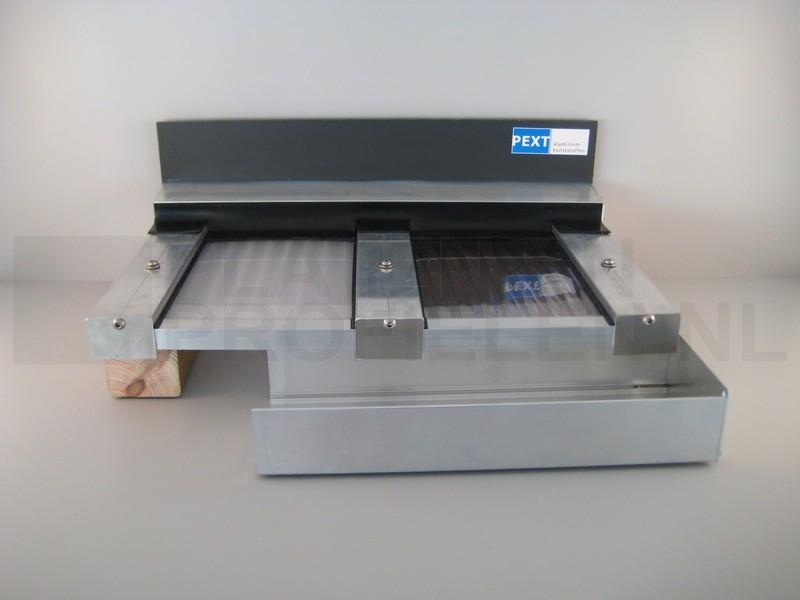 Pext LT50 Daksysteem Helder 906x500 Muuraanbouw