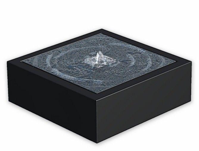 Adezz Watertafel 120x120x40 cm Aluminium vierkant