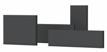 Adezz | Aluminium wand | 200 x 15 x 100 cm
