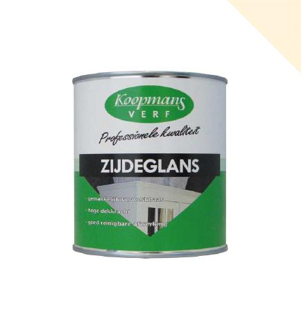 Koopmans | Zijdeglans 302 Roomwit | 250 ml