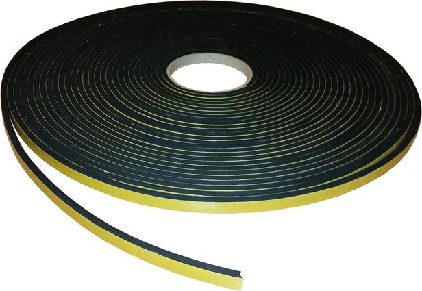 Felix Clercx | EPDM afstandsband | comprimeerbaar | 5 x 10 mm x 20 m.