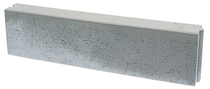 Opsluitband | betonband 12x25x100 | Grijs