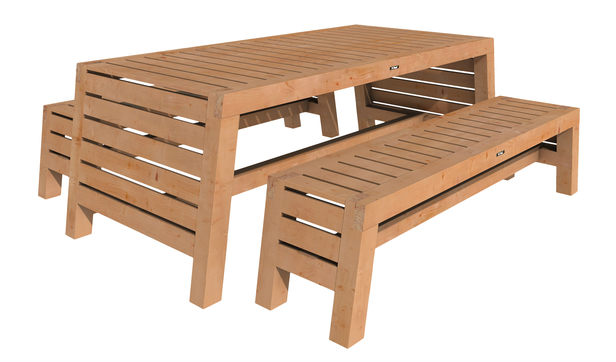 Hillhout | Tuinset Riva Excellent | blank