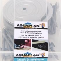 Aquaplan | Isolatie bevestigingsset | schroeven en volgringen | 6 cm