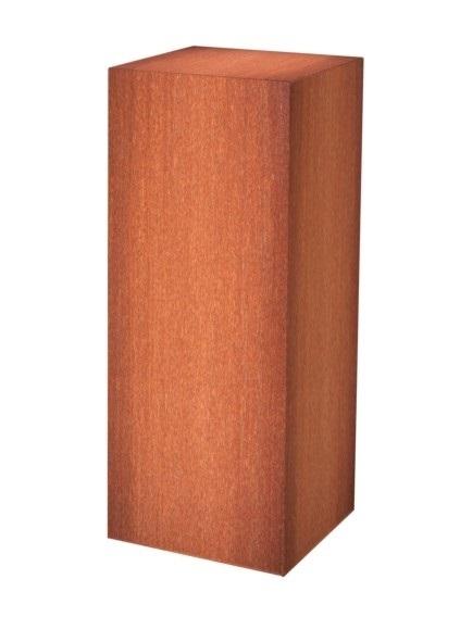 Adezz | Onbehandeld staal sokkel | 40 x 40 x 120 cm