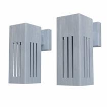 Potmaat | Wandlamp Koll 2 | Verzinkt staal