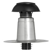 Aquaplan | Ontluchtingskap Aluminium | DW 110/125 mm