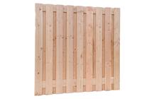 Woodvision | Scherm Douglas geschaafd | 19-planks | 180 x 180 cm
