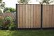 Woodvision   Scherm Douglas geschaafd   19-planks   180 x 180 cm