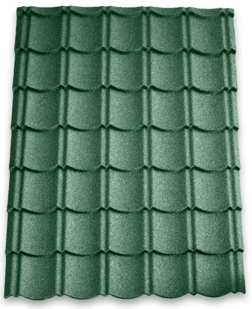 Aquaplan | Aqua-Pan Metalen Dakpanplaat | Groen | 113 x 86 cm