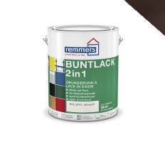 Remmers | Aidol Buntlack 2 in 1 Hoogglans | RAL 8017 | 2,5 L