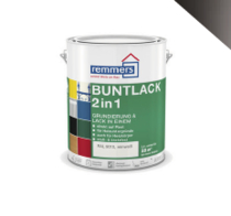 Remmers | Colorlak 2 in 1 | 9005 Zwart | 2,5 L