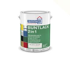 Remmers | Aidol Buntlack 2 in 1 Hoogglans | RAL 9010 | 2,5 L