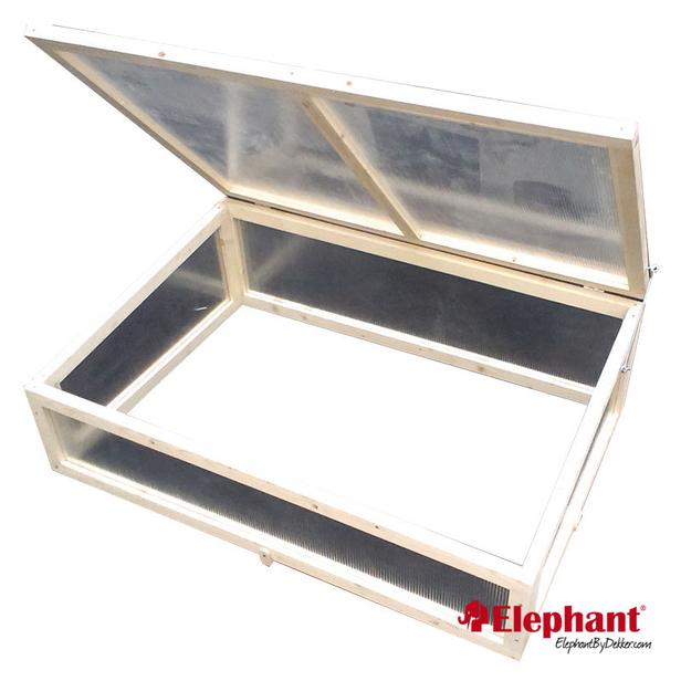 Elephant | Trendline kweekbak met glasdeksel | 80x120 cm