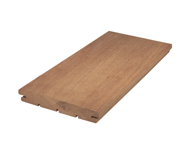 Vlonderplank | Afrikulu | 21 x 143 mm | B-fix | Bol/glad | 270 cm