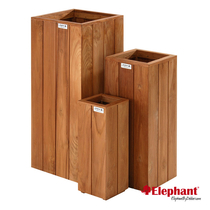 Elephant | Bloembak Pilaar | 30x30 cm