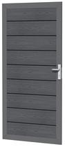 Woodvision | Composiet deur | Houtmotief Antraciet