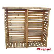 Elephant | Haardhout berging | 60x190x179