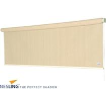 Nesling | Coolfit Rolgordijn | 2.48 x 2.4m | Gebroken wit