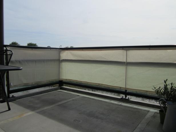 Nesling | Balkondoek 80x500 | Zand