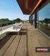 Gardenlux | Ceramica Lastra 45x90x2 | Axi Brown Chestnut