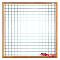 Elephant | Draadscherm | 180x180 cm | Hardhout