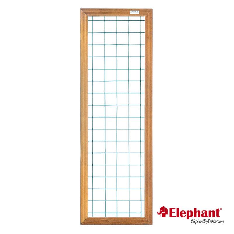 Specificaties type: draadscherm met hardhouten kader afmeting (b x h): 60 x 180 cm maaswijdte: 10 x 10 ...