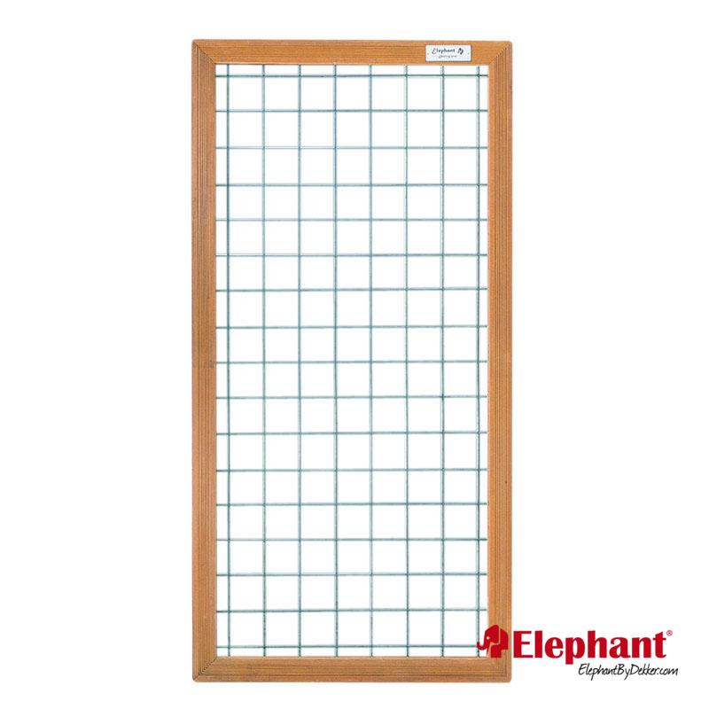 Specificaties type: draadscherm met hardhouten kader afmeting (b x h): 90 x 180 cm maaswijdte: 10 x 10 ...