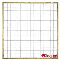 Elephant | Draadscherm | 180x180 cm | Vuren