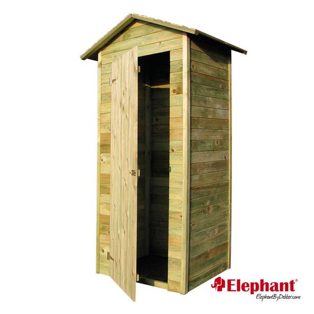 Elephant | Tuinkast | 70x100x220 cm