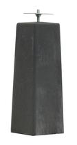 Woodvision | Betonpoer Antraciet | 18/15 x 18/15 cm voor paal 14-15 cm
