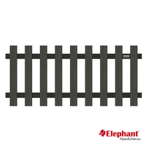 Elephant | Luxe hek | 180 x 80 cm