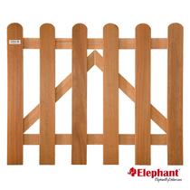Elephant | Tuinpoort Classic | 100x60 cm | Kempas