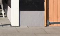 Douglasvision | Trasraam A met grijs stucwerk | 178.5x34