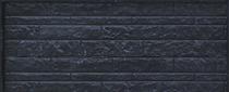 Betonrotsmotief onderplaat | Dubbelzijdig rotsmotief | Gecoat | Antraciet