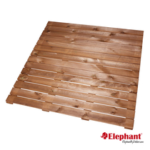 Elephant | Terrastegel | 100x100 cm | Grenen