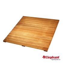 Elephant | Bangkirai terrastegel ribbel | 100x100