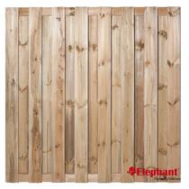 Elephant | Grenen PEFC tuinscherm | 15 planks | 180x180