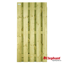 Elephant   Grenen tuindeur recht   90 x 180 cm