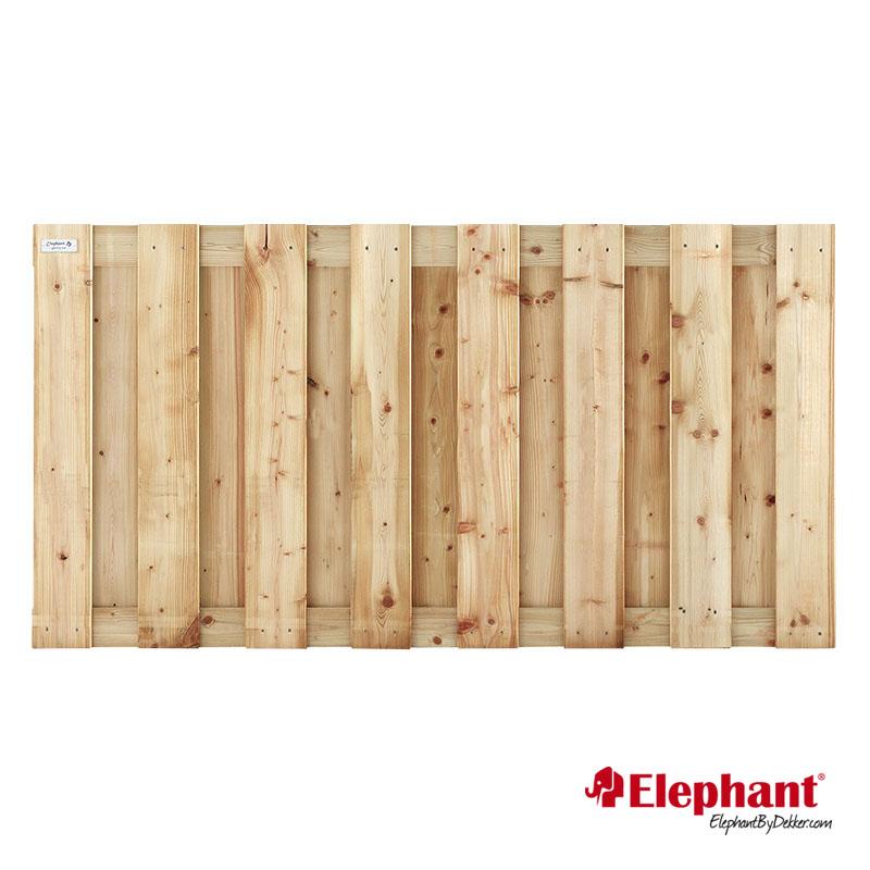 Elephant | Finch tuinscherm | 180x90 cm | Vuren